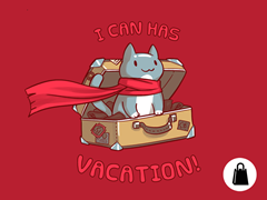 I Can Has Vacation! Tote