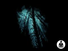 Underwater Forest LW Hoodie
