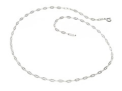 Sterling Silver Drop Star Chain