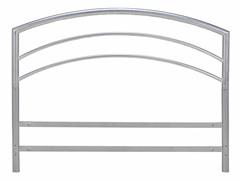 Silver Metal Bed Headboard (5 sizes)
