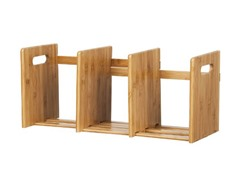 Bamboo Extesion Book Rack