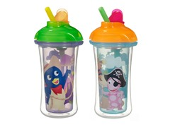 9oz Backyardigans Straw Cup - 2 Pk/Asst