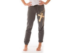 Bottom's Up French Terry Loungepants,Gry
