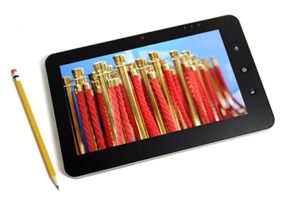 """Azpen X1 Dual Boot 10 1"""" Tablet with Windows 7, Android 2 2"""