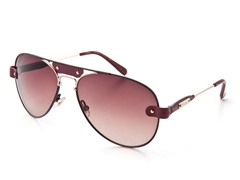 Burgundy CL2204 Sunglasses
