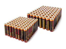 Kodak MAX Alkaline Batteries - 5 Sizes
