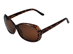 Brown Smitten Sunglasses