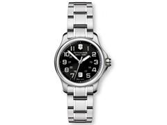Swiss Army Officer's Lady Steel Watch