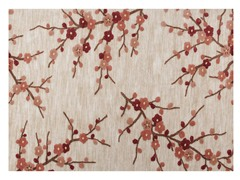 Cherry Blossom Clay Rug (3 Sizes)