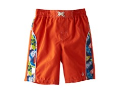 Swim Trunk - Orange Surf (4-7)