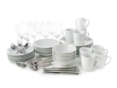 10 Strawberry Street 80 Pc Round Dinnerware Set