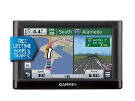 "Garmin 6"" GPS w/ Lifetime Maps & Traffic"