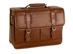 "Beverly Leather 15.4"" Flapover Laptop Case"