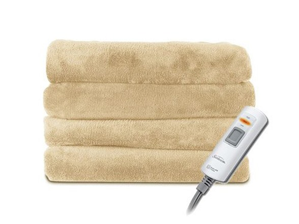 Sunbeam 2 Person Heated Throw 3 Colors