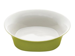 "10"" Round Serving Bowl- Green"