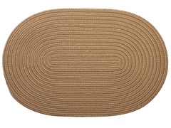 Cafe Tostado Braided-Texture Rugs