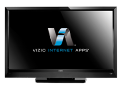 "VIZIO 47"" 1080p LCD HDTV with Apps"