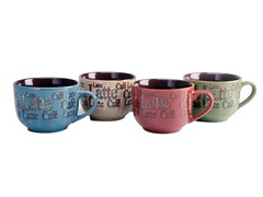 Signature 21oz Latte Mugs - Set of 4
