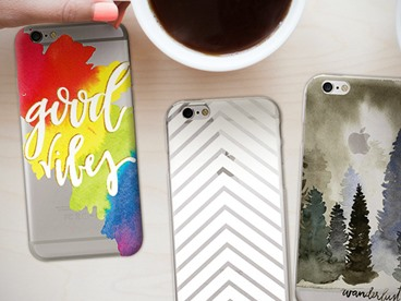 OTM Prints Clear Case for iPhone 6 & 7