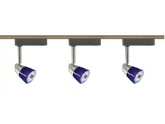3-Light 4-Foot Low Voltage, Blue/Satin