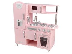 Pink Vintage Kitchen