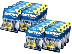 AA Alkaline Batteries - 144 Pack
