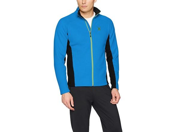 Spyder Mens Constant Full Zip Mid Wt Stryke Tailored Fit Stryke Jacket