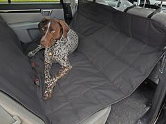 Hammock Car Seat Pet Protector, Anthracite
