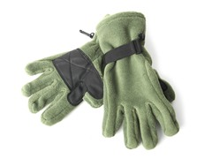 Fleece Gloves for Her - Green