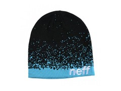 Spray Beanie - Black/Blue